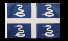 Bandiera Francia Martinica con orlo