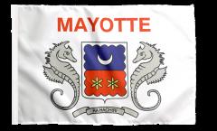 Bandiera Francia Mayotte con orlo