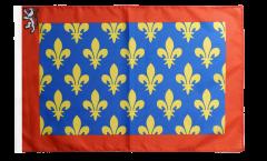 Bandiera Francia Sarthe con orlo