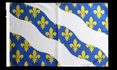 Bandiera Francia Yvelines con orlo