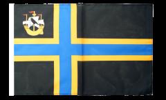 Bandiera Regno Unito Caithness con orlo