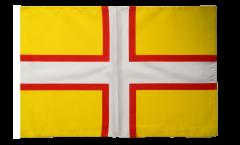 Bandiera Regno Unito Dorset con orlo