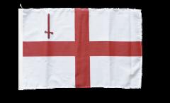 Bandiera Regno Unito Londra con orlo