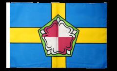 Bandiera Regno Unito Pembrokeshire con orlo