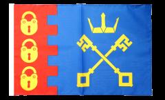 Bandiera Regno Unito Willenhall con orlo