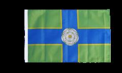 Bandiera Regno Unito Yorkshire North Riding con orlo