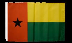 Bandiera Guinea-Bissau con orlo