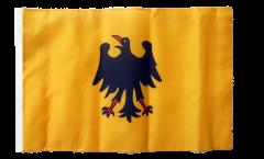 Bandiera Sacro Romano Impero Germanico fino a 1400 con orlo
