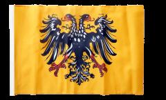 Bandiera Sacro Romano Impero Germanico 1400- con orlo