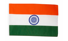 Bandiera India con orlo