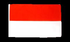 Bandiera Indonesia con orlo