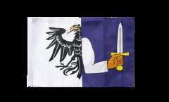 Bandiera Irlanda Connacht con orlo