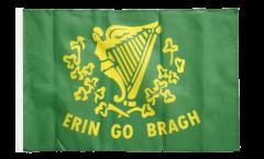 Bandiera Irlanda Erin Go Bragh con orlo