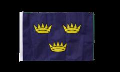 Bandiera Irlanda Munster con orlo