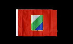 Bandiera Italia Abruzzo con orlo