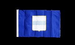 Bandiera Italia Basilicata con orlo