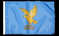 Bandiera Italia Friuli Venezia Giulia con orlo