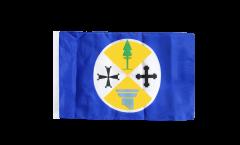 Bandiera Italia Calabria con orlo