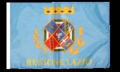 Bandiera Italia Lazio con orlo