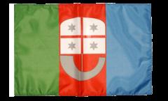 Bandiera Italia Liguria con orlo