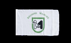Bandiera Italia Marche con orlo