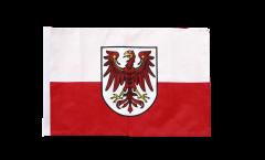 Bandiera Italia Sud Tirolo con orlo