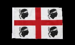 Bandiera Italia Sardegna con orlo