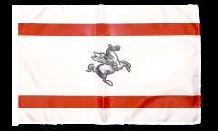 Bandiera Italia Toscana con orlo
