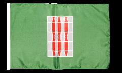 Bandiera Italia Umbria con orlo