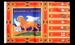 Bandiera Italia Veneto con orlo