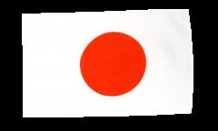 Bandiera Giappone con orlo