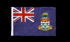Bandiera Isole di Cayman con orlo