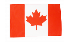 Bandiera Canada con orlo