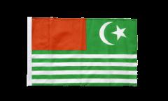 Bandiera Il Kashmir con orlo