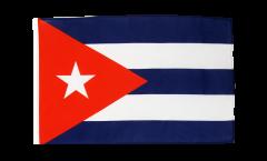 Bandiera Cuba con orlo