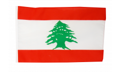 Bandiera Libano con orlo