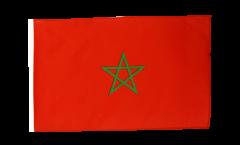 Bandiera Marocco con orlo
