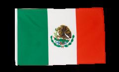 Bandiera Messico con orlo