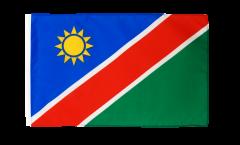 Bandiera Namibia con orlo