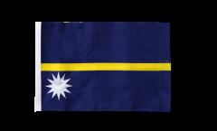 Bandiera Nauru con orlo