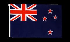 Bandiera Nuova Zelanda con orlo
