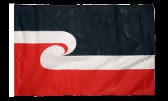 Bandiera Nuova Zelanda Maori con orlo