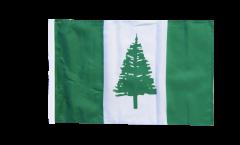 Bandiera Isole di Norfolk con orlo