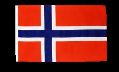 Bandiera Norvegia con orlo