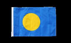 Bandiera Palau con orlo