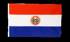 Bandiera Paraguay con orlo
