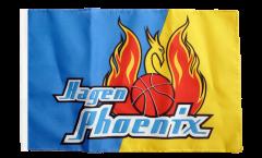 Bandiera Phoenix Hagen con orlo