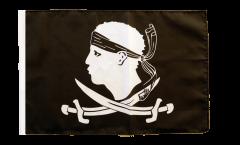 Bandiera Pirata Corsica con orlo