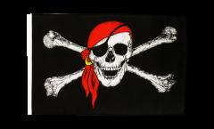 Bandiera Pirata con bandana con orlo