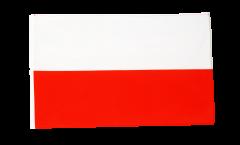 Bandiera Polonia con orlo